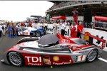 Marco Werner Frank Biela Emanuele Pirro (Audi Sport)
