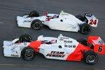 Ryan Briscoe und John Andretti