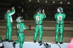 Die Andretti-Green-Mechaniker feiern