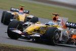 Fernando Alonso und Nelson Piquet Jr. (Renault)