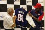 NFL-Star und Neu-Teambesitzer Randy Moss (Trucks/Kentucky)
