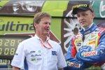 Mikko Hirvonen und Malcom Wilson (Ford)