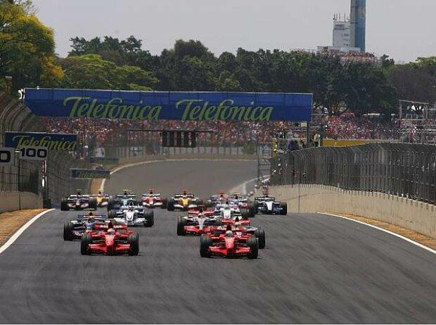 Start in Brasilien 2007