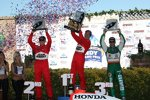 Ryan Briscoe Helio Castroneves Tony Kanaan
