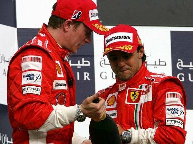 Kimi Räikkönen, Felipe Massa