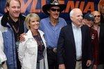 Cindy Mc Cain Richard Petty John McCain