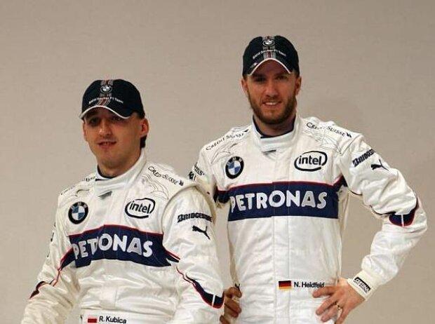 Robert Kubica und Nick Heidfeld