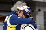 Flavio Briatore (Teamchef) und Fernando Alonso (Renault)