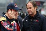 Sébastien Bourdais und Gerhard Berger (Teamanteilseigner) (Toro Rosso)