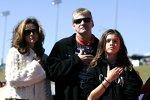 Jeff Burton mit Familie