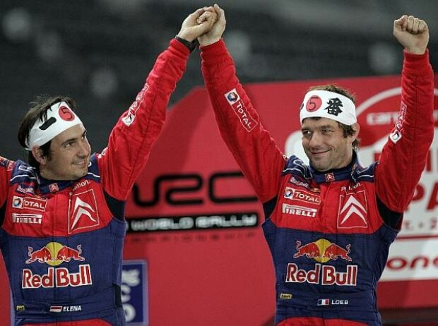 Daniel Elena und Sébastien Loeb