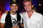 Nico Rosberg Vitantonio Liuzzi (Williams) (Force India) Red Bull End-of-Season-Party