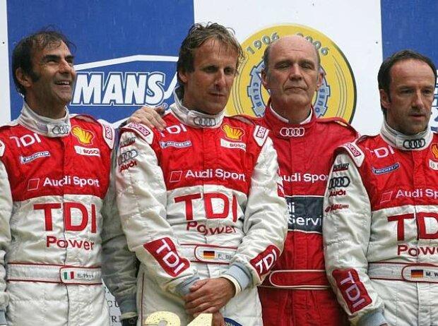 Pirro Biela Ullrich Werner Le Mans