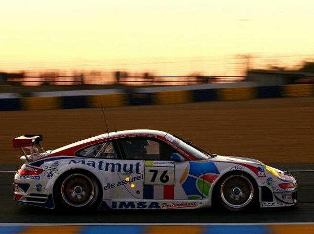 Patrick Long Porsche Le Mans 2008