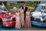 Johnny Benson mit Familie (Trucks)