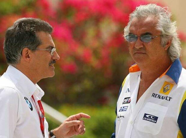 Mario Theissen und Flavio Briatore