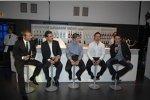 Andy Priaulx Robert Kubica Mario Theissen (BMW Motorsport Direktor) und Alexander Rossi (BMW Sauber F1 Team)