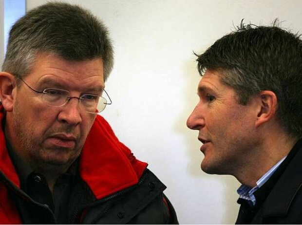 Ross Brawn, Nick Fry