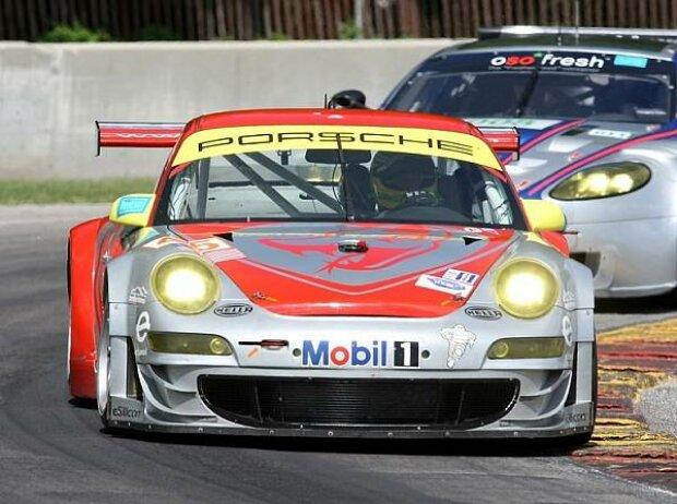 Wolf Henzler Flying Lizard Porsche ALMS