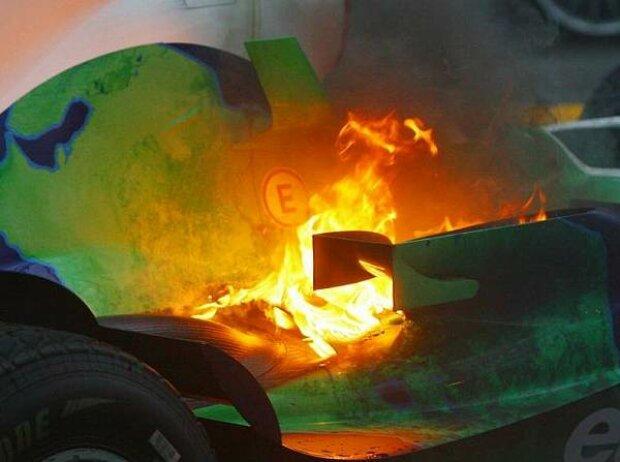Feuer bei Honda