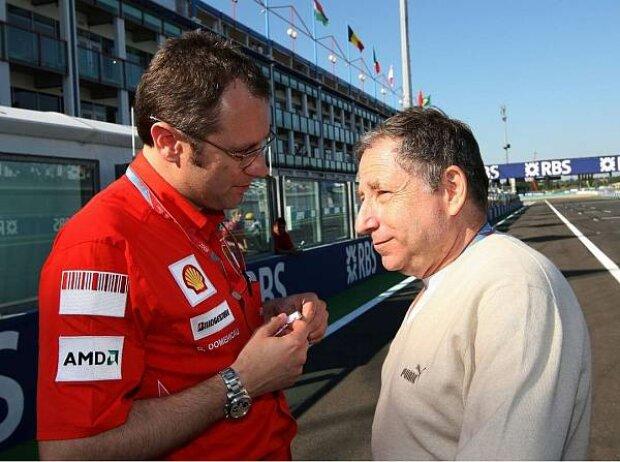 Stefano Domenicali und Jean Todt