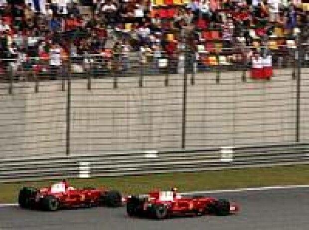 Kimi Räikkönen und Felipe Massa