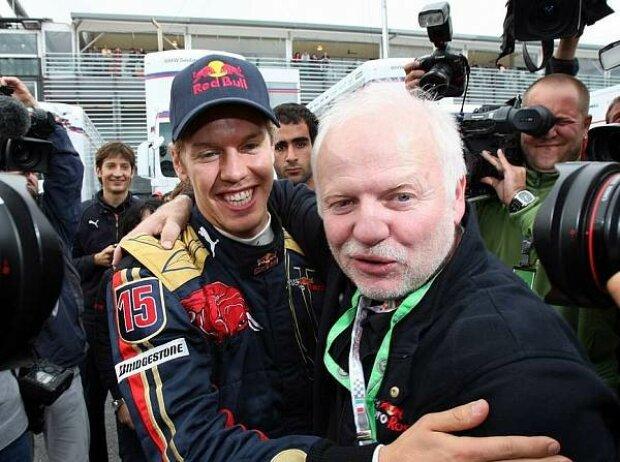 Sebastian und Norbert Vettel
