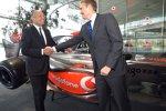 Ron Dennis (Teamchef) und Martin Whitmarsh (Geschäftsführer) (McLaren-Mercedes)
