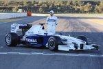 Nick Heidfeld (BMW Sauber F1 Team) und der neue BMW Sauber F1.09
