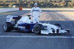 Robert Kubica (BMW Sauber F1 Team) und der neue BMW Sauber F1.09