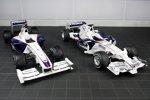 Der BMW Sauber F1.09 links, der F1.08 rechts