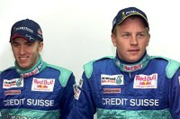 Nick Heidfeld und Kimi Räikkönen