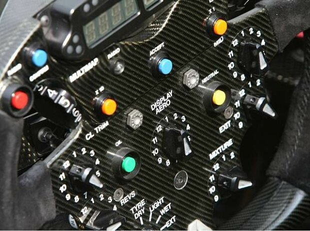 Formel-1-Lenkrad