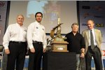 Rick Hendrick Jimmie Johnson Mario Andretti