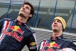 Mark Webber und Sebastian Vettel (Red Bull)