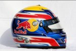 Helm von Mark Webber (Red Bull)