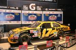Das Siegerauto von Matt Kenseth steht ab sofort im Daytona-Museum