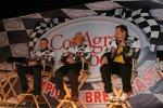 Matt Kenseth mit Crewchief Drew Blickensderfer und Jack Roush
