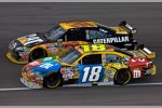 Kyle Busch (Gibbs), Jeff Burton (Childress)