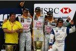 Jordi Gené, Gabriele Tarquini, Rickard Rydell (SEAT) (Proteam Motorsport)