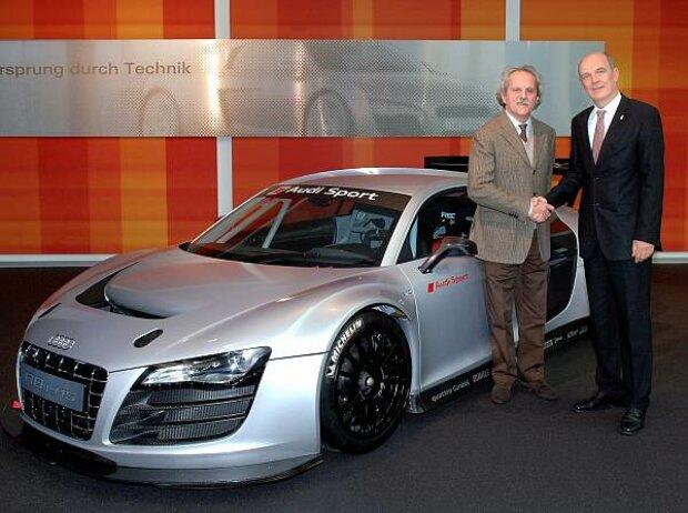 Audi R8 LMS, Emilio Radaelli und Wolfgang Ullrich