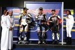 Jakub Smrz (Ducati), Ben Spies (Yamaha) und Max Biaggi (Aprilia)