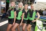 Patron-Girls des Highcroft-Teams