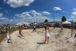 Volleyball-Match: Motorsport vs. Girls