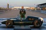 David Brabham mit dem Cooper Climax 1959 seines Vaters Jack