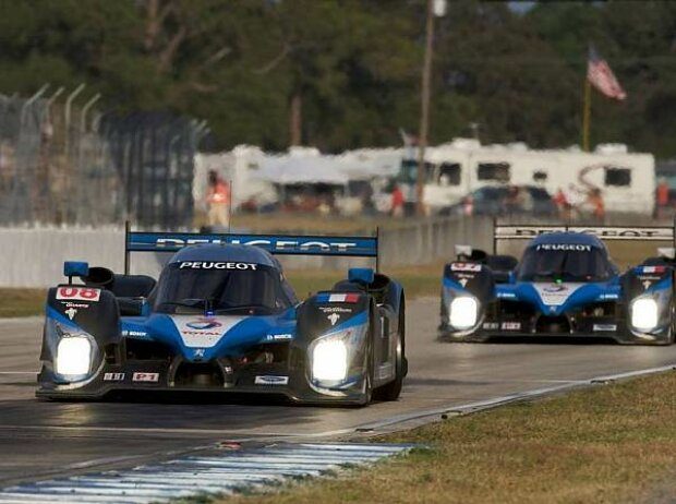 Stephan Sarrazin, Sébastien Bourdais, Franck Montagny, Sebring, Sebring International Raceway