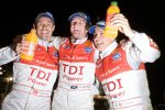 Tom Kristensen, Rinaldo Capello, Allan McNish (Audi Sport)  Abt Abt