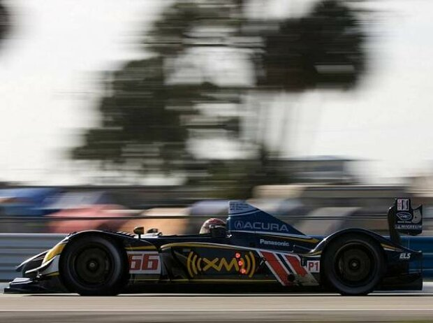 Simon Pagenaud, Gil de Ferran (Sportlicher Direktor), Scott Dixon, Sebring, Sebring International Raceway