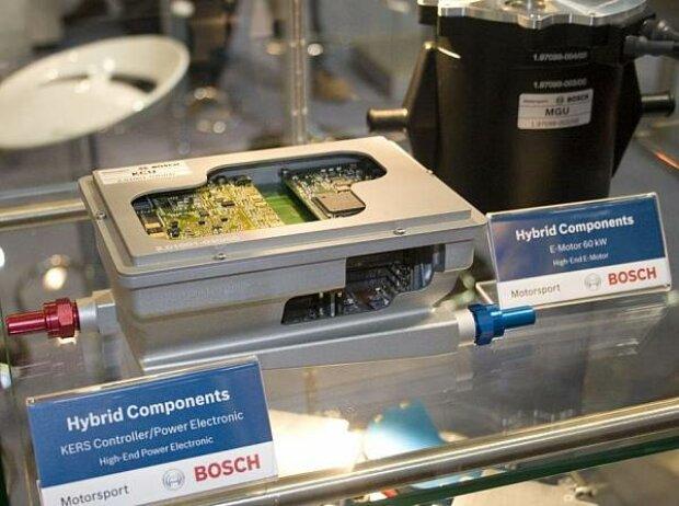KERS-Elektromotor von Bosch