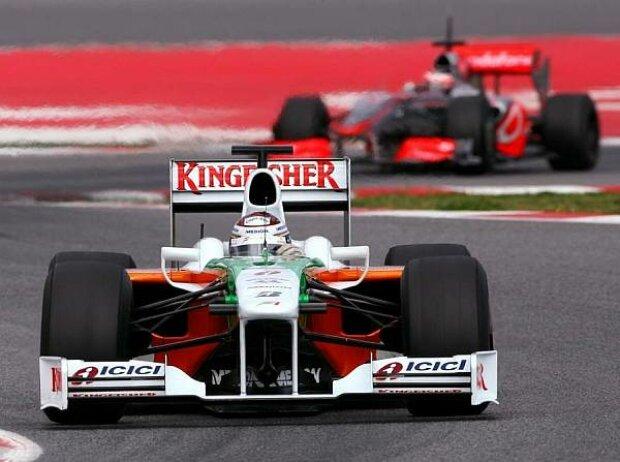 Adrian Sutil, Barcelona, Circuit de Catalunya